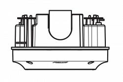Монтажная коробка Pelco IMMBB0-EI