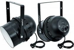 Светодиодный     EUROLITE    LED PAR-64 RGBA spot , black, 10mm