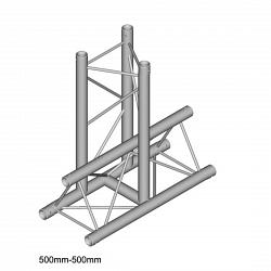 Металлическая конструкция Dura Truss DT 23 T35-VD   3way vertical T piece down