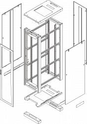 Комплект стенок TLK TFE-2-4710-PP-BK