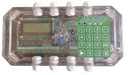 Адресный приемно-контрольный прибор Планета ОПС АСПС Планета-4