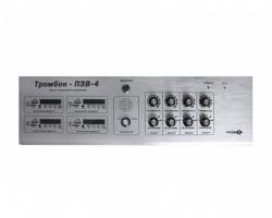 Пульт звукового вещания четырехканальный Оникс ТРОМБОН-ПЗВ-4