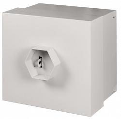 Настенный антивандальный шкаф NETLAN EC-WS-095650-GY