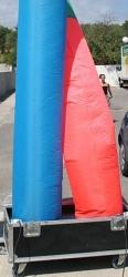Надувная труба для генератора Tube 500 colour- 12 meters