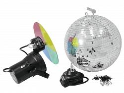 Зеркальный шар     EUROLITE    Mirror Ball 30 cm с двигателем MD 1515 и цепью
