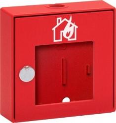 Красный алюминиевый корпус ручного извещателя - Esser 704801.10