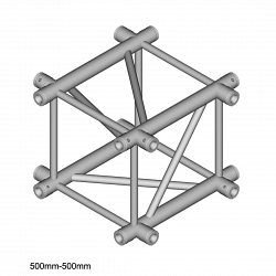 Металлическая конструкция Dura Truss DT 44 C41   X-joint 50cm