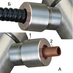 Устройство крепления металлорукава D=10 м УКМ-10