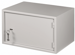 Настенный антивандальный шкаф NETLAN EC-WS-075240-GY