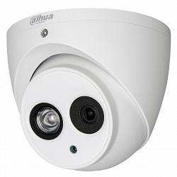 Уличная купольная мультиформатная видеокамера Dahua DH-HAC-HDW1220EMP-A-0360B