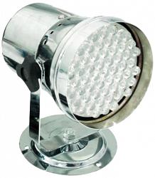 Пинспот     EUROLITE    LED T-36 RGB spot сhrom 10mil