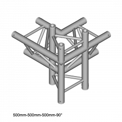 Металлическая конструкция Dura Truss DT 33 C44-LUD  90
