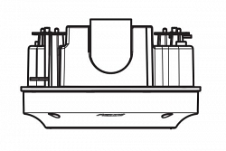 Монтажная коробка Pelco IMMBB0-I