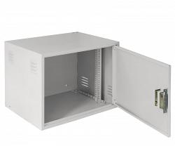 Настенный антивандальный шкаф NETLAN EC-WS-096045-GY