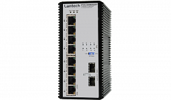 Коммутатор Lantech IPGS-0208MGSFP-12V