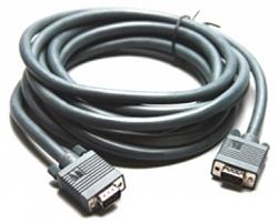 Кабель VGA (HD15): Вилка - Вилка (Малодымный, без галогеноводородов) CLS-GM/GM-6