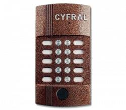 Блок вызова аудиодомофона ЦИФРАЛ M-10M/P