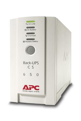 ИБП APC BACK-UPS CS 650 (BK650EI)