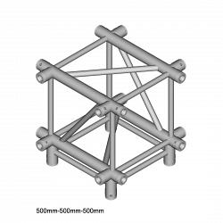 Металлическая конструкция Dura Truss DT 44 XD   X-joint + down 50cm