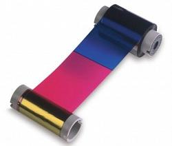 Полноцветная ПОЛУпанельная лента Fargo 45029