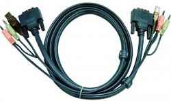 Кабель KVM USB ATEN 2L-7D02U 1.8 м