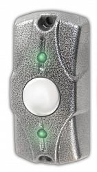 Кнопка выхода Олевс Циклоп (серебро)
