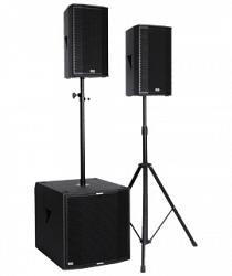 Полнодиапазонный звукоусилительный комплект KS-AUDIO SAT 3.0