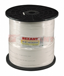 Кабель Rexant RG-59U+CU (75 Ом) (01-2651) 305м