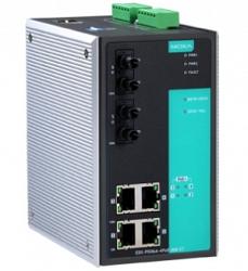 Коммутатор MOXA EDS-P506A-4PoE-MM-ST-T