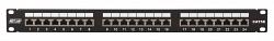 Коммутационная панель NETLAN EC-URP-24-SD2