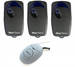 Nice FLO1R-SOX2KIT100 комплект. Состав комплекта: 100 штук пультов FLO1R-S, приёмник OX2