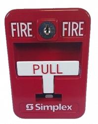 Извещатель пожарный ручной безадресный влаго -взрывозащищенный - Simplex 2099-9138