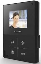 Kocom    KCV-401EV черный,  Монитор цв.видеодомофона