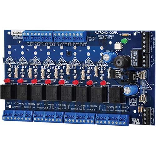 Многоканальный контроллер питания ACM8CB Altronix