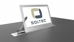 Выдвижной монитор Soltec SRET215L-15