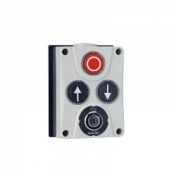 402500 Панель управления XB300 3х кнопочная с ключом