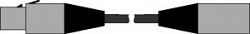 Кабель с разъемом XLR, 1 м - Esser 583489