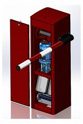 Шлагбаум электромеханический скоростной (стойка) ФАНТОМ F3PM