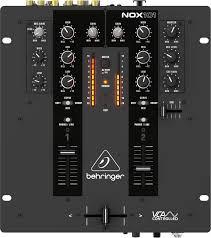 DJ микшерный пульт 2-канальный Behringer NOX101