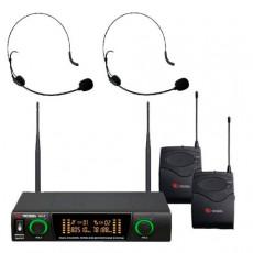 VOLTA US-2H (725.80/505.75) (discontinued) Микрофонная радиосистема с двумя головными микрофонами