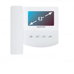 AccordTecQM-433C_EXEL–цветной 4-x проводный, 4.3'' TFT LCD (480х272) видеодомофон
