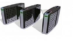Проходная с раздвижными створками (комбинированный модуль) Gunnebo SMBCNORH000NL