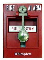 Извещатель пожарный ручной - Simplex 4099-9001