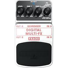 Педаль эффектов Behringer FX 600 DIGITAL MULTI-FX