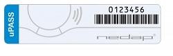 Тонкая пассивная УВЧ-метка Nedap UHF Windshield Tag Tamper Resistant Wiegand 26