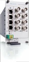 Восьмиканальный передатчик видео-данных-тревоги Teleste CRT891
