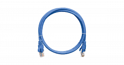 Коммутационный шнур NIKOMAX NMC-PC4UD55B-005-C-BL