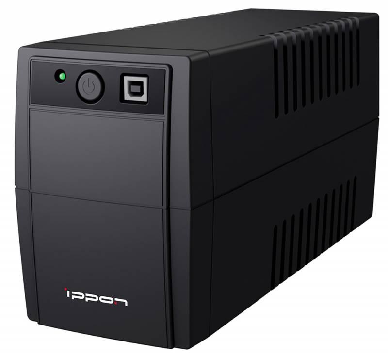 Источник бесперебойного питания Ippon Back Basic 1050 600Вт