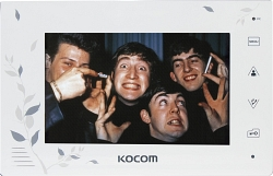 Kocom    KCV-A374 (черный) Монитор цв.видеодомофона