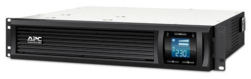 ИБП APC Smart-UPS C 1000 ВА с ЖК-экраном, с возможностью монтажа в стойку высотой 2U, 230 В SMC1000I-2U